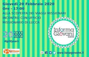Per conoscere i viaggi missionari @ Informagiovani LUCCA